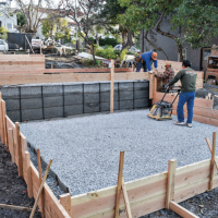 concrete footers/slabs